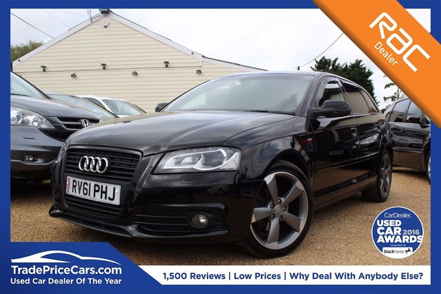 View our 2011 61 AUDI A3 2.0 SPORTBACK TDI S LINE SPECIAL EDITION 5d 138 BHP
