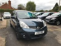 USED 2012 12 NISSAN NOTE 1.6 N-TEC PLUS 5d AUTO 110 BHP NEED FINANCE? WE STRIVE FOR 94% ACCEPTANCE