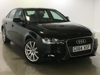 USED 2014 64 AUDI A4 2.0 TDI SE TECHNIK 4d AUTO 148 BHP One Owner From New/Huge Spec