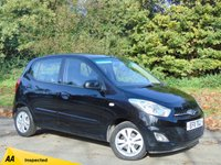 USED 2011 11 HYUNDAI I10 1.2 ACTIVE 5d 85 BHP * 128 POINT AA INSPECTED *