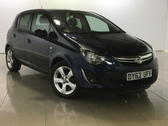 View our 2012 62 VAUXHALL CORSA 1.4 SXI AC 5d 98 BHP