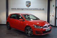USED 2015 65 VOLKSWAGEN GOLF 2.0 GTD 5DR 181 BHP + FULL VW SERVICE HISTORY + 1 OWNER FROM NEW + SATELLITE NAVIGATION + BLUETOOTH + HEATED SPORT SEATS + WINTER PACK + CRUISE CONTROL + CRUISE CONTROL + DAB RADIO + HEATED MIRRORS + RAIN SENSORS + PARKING SENSORS + 18 INCH ALLOY WHEELS +