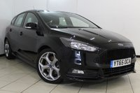USED 2015 65 FORD FOCUS 2.0 ST-1 TDCI 5DR 183 BHP AIR CONDITIONING + BLUETOOTH + DAB RADIO + MULTI FUNCTION WHEEL + 18 INCH ALLOY WHEELS
