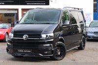 USED 2016 16 VOLKSWAGEN TRANSPORTER T6 2.0 TDI SWB HIGHLINE PANEL VAN SPORT X PACK HUGE SPEC ** FULL SPORT X PACK ** FINANCE AVAILABLE