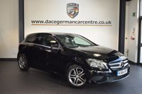 USED 2014 64 MERCEDES-BENZ A CLASS 1.5 A180 CDI BLUEEFFICIENCY SPORT 5DR 109 BHP + HALF BLACK LEATHER INTERIOR + FULL MERC SERVICE HISTORY + 1 OWNER FROM NEW + BLUETOOTH + COMFORT SPORT SEATS + CRUISE CONTROL + RAIN SENSORS + 17 INCH ALLOY WHEELS +