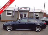 2009 BMW 5 SERIES 3.0 530D M SPORT 4DR AUTOMATIC 232 BHP DIESEL £9400.00
