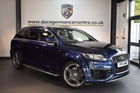 USED 2014 N AUDI Q7 3.0 TDI QUATTRO S LINE SPORT EDITION 5DR 7 SEATER AUTO 242 BHP + FULL BLACK LEATHER INTERIOR + SATELLITE NAVIGATION + BLUETOOTH + AUDI SERVICE HISTORY + HEATED SPORT SEATS + XENON LIGHTS + REVERSE CAMERA + 7 SEATER + CRUISE CONTROL + BOSE SPEAKER SYSTEM + DAB RADIO + PARKING SENSORS + 21 INCH ALLOY WHEELS + +