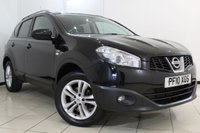 USED 2010 10 NISSAN QASHQAI 1.5 N-TEC DCI 5DR 105 BHP NISSAN SERVICE HISTORY + SAT NAVIGATION + PARKING SENSOR + BLUETOOTH + CLIMATE CONTROL + 18 INCH ALLOY WHEELS