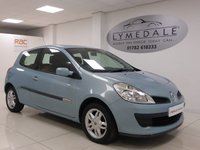 USED 2007 57 RENAULT CLIO 1.1 RIP CURL 16V 3d 75 BHP Great Value, Excellent Condition, Stylish Interior