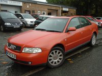 USED 2000 W AUDI A4 1.8 SE 4d 123 BHP NEW MOT ON SALE+GREAT VALUE