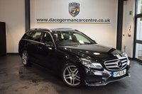 USED 2014 63 MERCEDES-BENZ E CLASS 2.1 E220 CDI AMG SPORT 5DR AUTO 168 BHP + HALF BLACK LEATHER INTERIOR + FULL MERC SERVICE HISTORY + 1 OWNER FROM NEW + COMAND SATELLITE NAVIGATION + BLUETOOTH + HEATED SPORT SEATS + CRUISE CONTROL + PARKING SENSORS + 18 INCH ALLOY WHEELS +