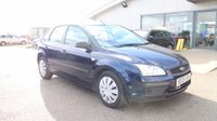USED 2005 05 FORD FOCUS 1.6 LX 16V 5d 101 BHP 25% DEPOSIT NO CREDIT CHECKS FINANCE AVAILABLE TO ALL