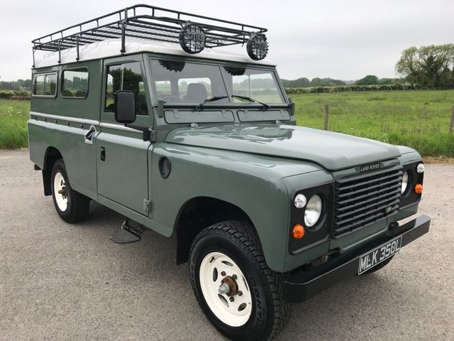 1972 LAND ROVER 109 2.3 4 CYL 1d  BHP 2.5 300 TDi Conversion