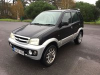 USED 2005 55 DAIHATSU TERIOS 1.3 SPORT 5d 85 BHP LOCAL CAR TAKEN IN P/X BY US GREAT CONDITION WITH FSH