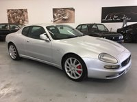 USED 2002 02 MASERATI 3200 3.2 GT V8 2d 370 BHP ONLY 44400 MILES AND 2 PREVIOUS OWNERS  THIS 3200 COMES WITH OVER £9000 OF FACTORY EXTRAS AND IS A SUPERB LOW MILEAGE CAR.