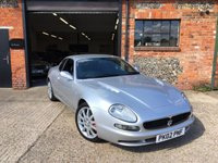 2002 MASERATI 3200 3.2 GT V8 2d 370 BHP ONLY 44400 MILES AND 2 PREIVOUS OWNERS OWNERS £24995.00