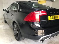 USED 2013 13 VOLVO S60 1.6 DRIVE R-DESIGN S/S 4d 113 BHP Only £30 a year road tax, Full service history, R-Design upholstery, R-Design steering wheel, Heated front seats, 18-inch alloy wheels