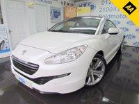 2015 PEUGEOT RCZ 1.6 THP GT 2d 156 BHP £11795.00