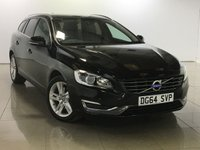 USED 2014 64 VOLVO V60 1.6 D2 SE LUX 5d 113 BHP
