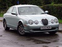 2003 JAGUAR S-TYPE 3.0 SE V6 4dr AUTO £2950.00