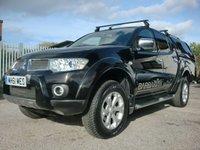 2011 MITSUBISHI L200 2.5 DI-D 4X4 BARBARIAN LB DCB 1d 175 BHP £7995.00