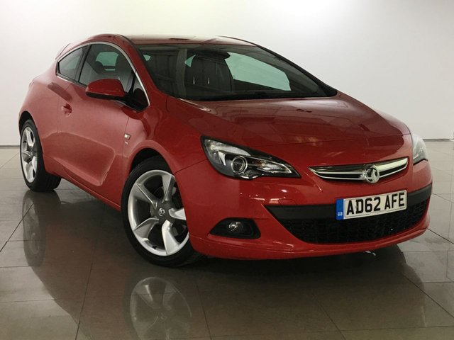 View our 2012 62 VAUXHALL ASTRA 1.4 GTC SRI S/S 3d 138 BHP