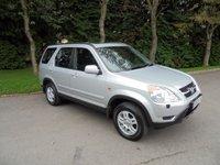 2002 HONDA CR-V 2.0 I-VTEC SE SPORT 5d 148 BHP £1795.00