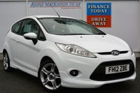 USED 2012 12 FORD FIESTA 1.6 ZETEC S 3d 118 BHP ONE FORMER KEEPER