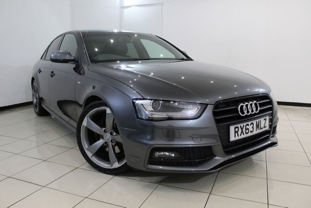 View our 2013 63 AUDI A4 2.0 TDI S LINE BLACK EDITION START/STOP 4DR 148 BHP