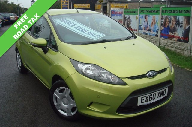 2010 60 FORD FIESTA 1.6 ECONETIC TDCI 5d 94 BHP FREE ROAD TAX