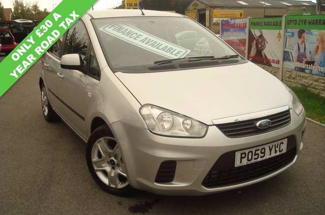 2009 59 FORD C-MAX 1.6 STYLE TDCI 5d 108 BHP LOW ROAD TAX ONLY £30 A YEAR