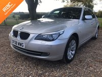 2008 BMW 5 SERIES 2.0 520D SE, SAT NAV, LEATHER,175 BHP £4450.00