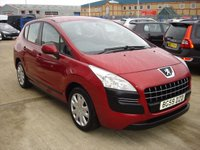 USED 2009 59 PEUGEOT 3008 1.6 ACTIVE HDI 5d 110 BHP