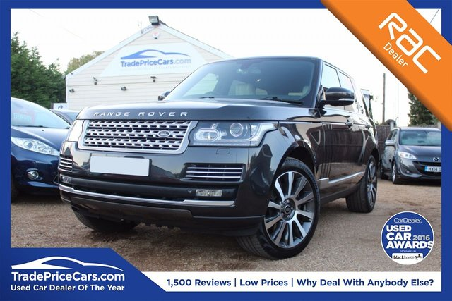 View our 2013 62 LAND ROVER RANGE ROVER 4.4 SDV8 VOGUE SE 5d AUTO 339 BHP