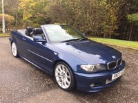 USED 2003 03 BMW 3 SERIES 2.5 325CI SPORT 2d 190 BHP 6 MONTHS PARTS+ LABOUR WARRANTY+AA COVER