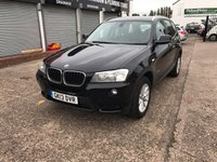 USED 2013 13 BMW X3 2.0 XDRIVE20D SE 5d 181 BHP Sat Nav-Bluetooth-Leather-Service History-1 Former Keeper-DAB Radio
