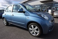 USED 2010 10 NISSAN MICRA 1.2 N-TEC 5d AUTO 80 BHP LOW DEPOSIT OR NO DEPOSIT FINANCE AVAILABLE.