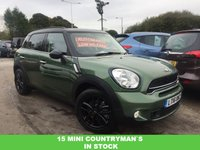 2016 MINI COUNTRYMAN 2.0 COOPER SD 5d AUTO 141 BHP £14989.00