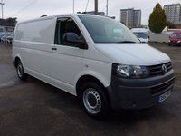 USED 2012 62 VOLKSWAGEN TRANSPORTER 2.0 T30 TDI LWB, 102 BHP, ELECTRIC PACK, BLUETOOTH, 1 FORMER KEEPER