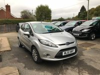 USED 2011 61 FORD FIESTA 1.2 EDGE 3d 81 BHP NEED FINANCE? WE STRIVE FOR 94% ACCEPTANCE