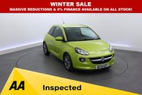 USED 2014 14 VAUXHALL ADAM 1.2 JAM 3d 69 BHP 1 OWNER - BLUETOOTH