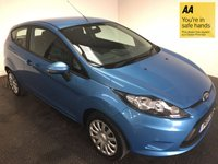 2011 FORD FIESTA 1.2 EDGE 3d 81 BHP £4500.00