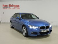 USED 2016 16 BMW 3 SERIES 2.0 320D XDRIVE M SPORT 4d AUTO 188 BHP with BMW Pro Media Package + Enhanced Bluetooth + More (See Stock Comments) with BMW Pro Media Package + Enhanced Bluetooth + More