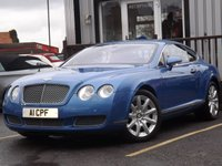 2004 BENTLEY CONTINENTAL 6.0 GT 2d AUTO 550 BHP £25995.00