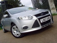 2012 FORD FOCUS 1.6 EDGE TDCI 115 5d 114 BHP £4999.00