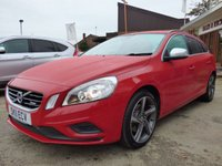 2011 VOLVO V60 1.6 T3 R-DESIGN 5d 148 BHP £SOLD