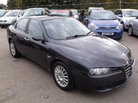 USED 2005 55 ALFA ROMEO 156 2.4 JTD 20V LUSSO 4d 175 BHP AFFORDABLE FAMILY CAR IN EXCELLENT CONDITION, DRIVES SUPERBLY WITH SERVICE HISTORY, GREAT SPEC !!!!