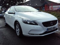 USED 2013 13 VOLVO V40 2.0 D4 SE NAV 5d 177BHP 30 ROAD TAX+MEDIA+SATNAV+CRUISE+