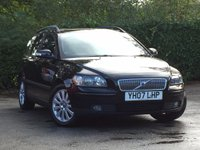USED 2007 07 VOLVO V50 2.0 D S 5d 135 BHP