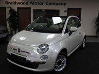 2014 FIAT 500 1.2 C LOUNGE 3d 69 BHP £7750.00